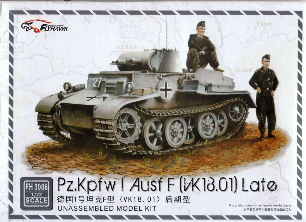 Pz.Kpfw.I Ausf F (VK.18.01) Late - Click Image to Close