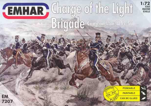 EM7211 scale 1-72 Emhar model figures French Infantry Crimean war