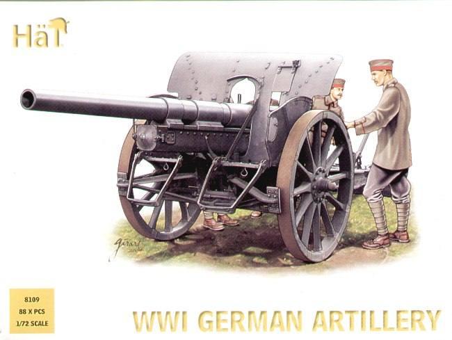 WWI German Artillery