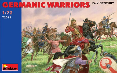 Germanic Warriors (IV-V Century) [MIN72013]SECONDARY_SECTION7 ...